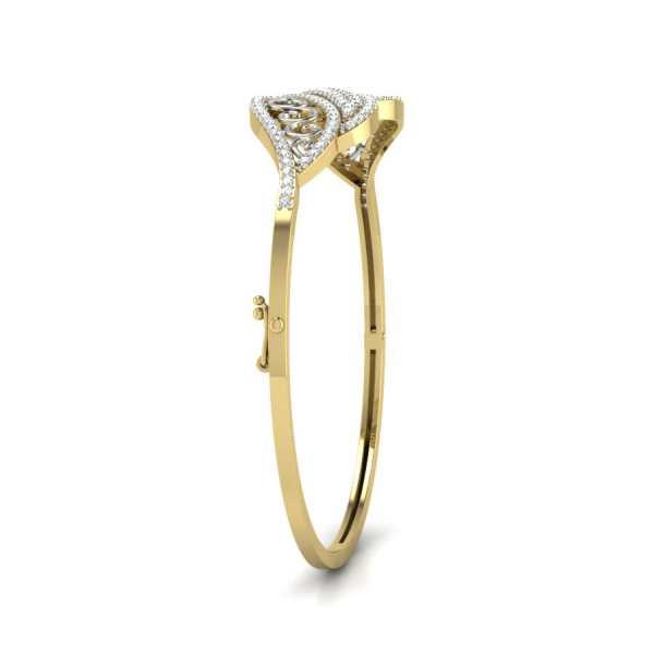 Dazzle Burst Diamond Bangle