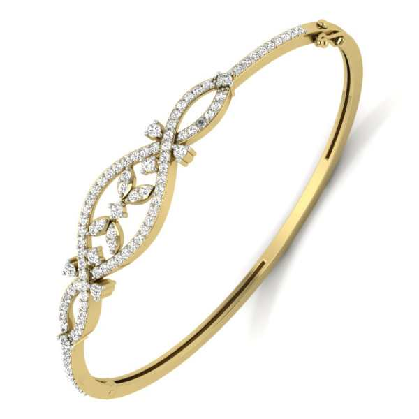 Trinity Diamond Bangle