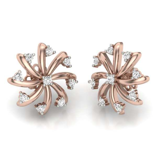 Nine Diamond Earring