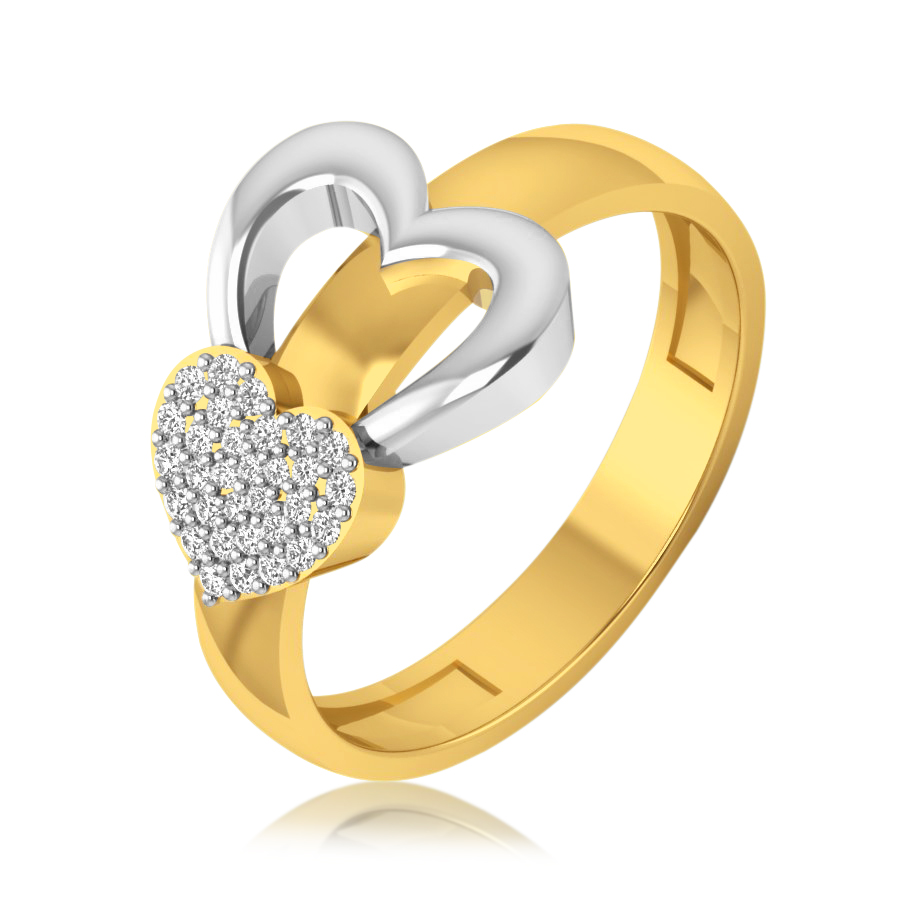 Love on Love Diamond Ring
