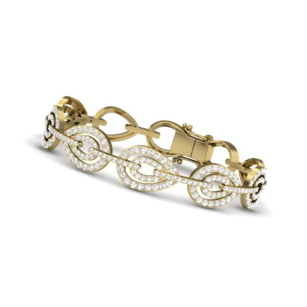 Peerless Love Diamond Bangle