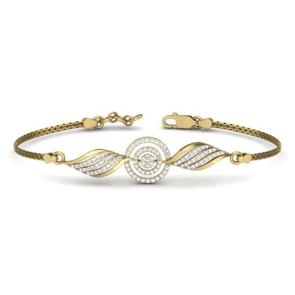 Sparkling Diamond Bangle