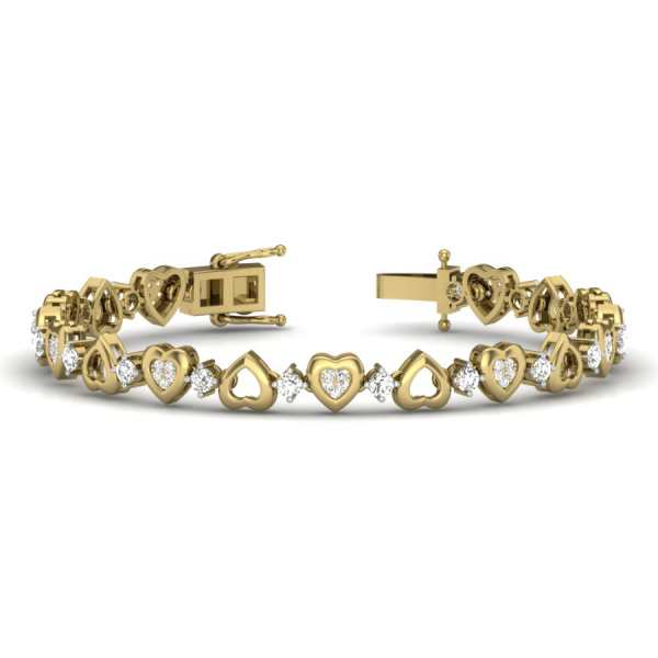 Love Unfolds Diamond Bangle