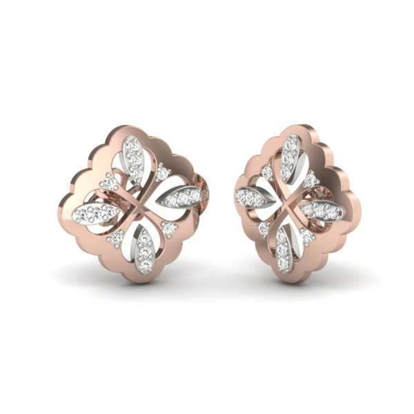 Stylish Design Diamond Earring
