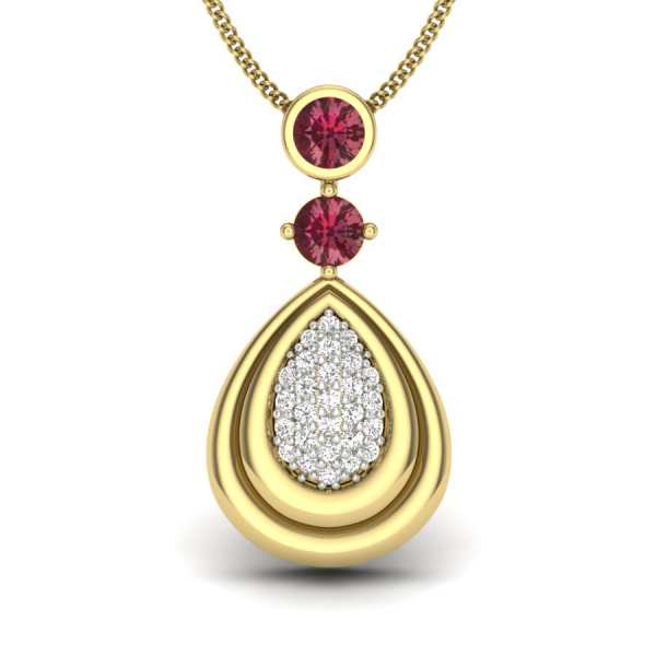 Morning Dew Diamond Pendant