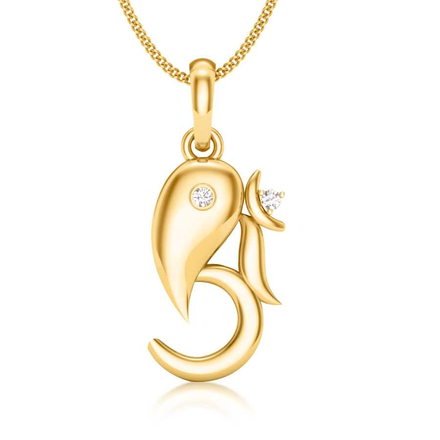 OM with Ganesha Pendant