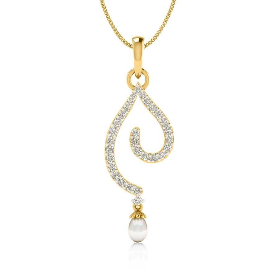Dangling Pearl Pendant
