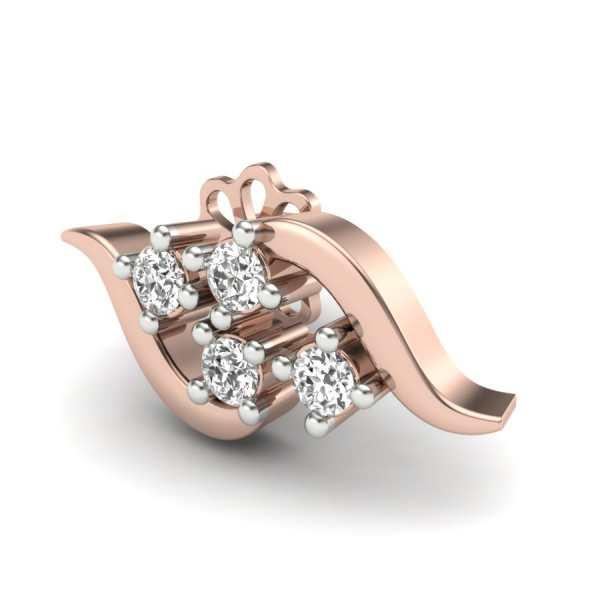 Zig-Zag With Four Diamond Shap