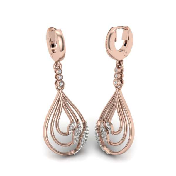 Three Round Oval shape Earring