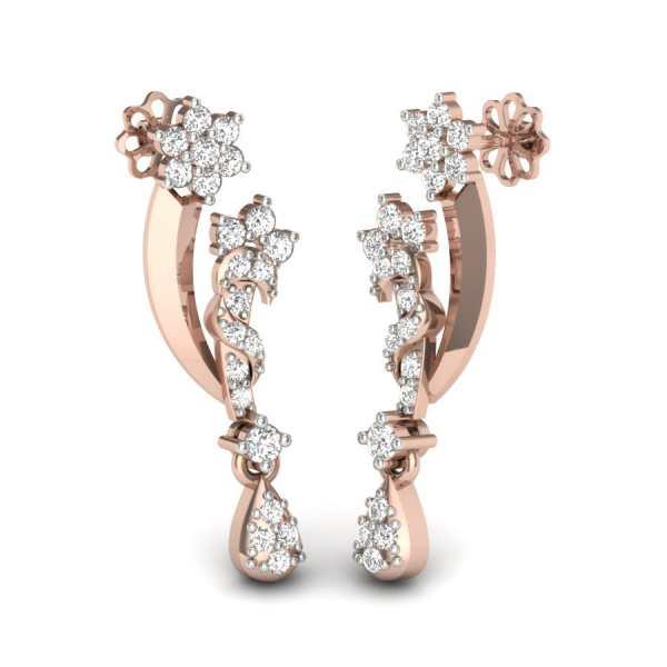 Zingy Image Diamond Earring