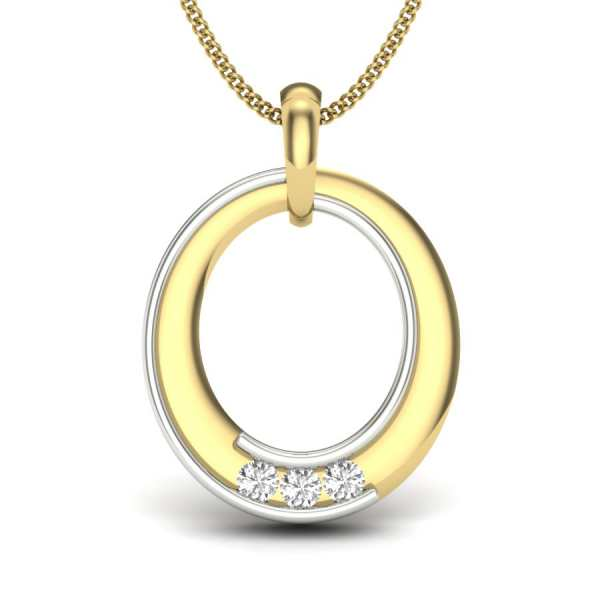 O Diamond Pendant