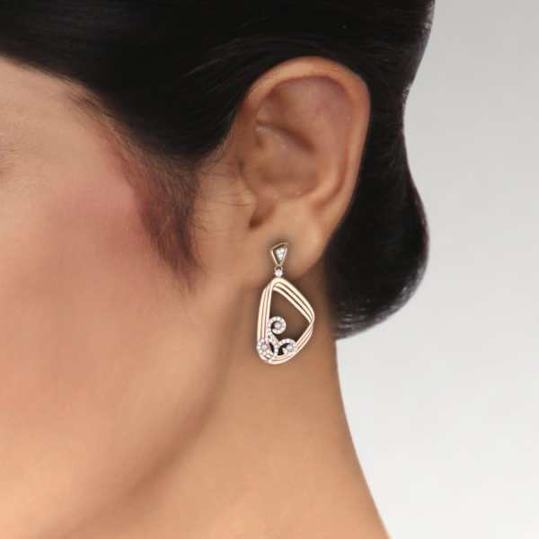 Stylish Triangle Earring