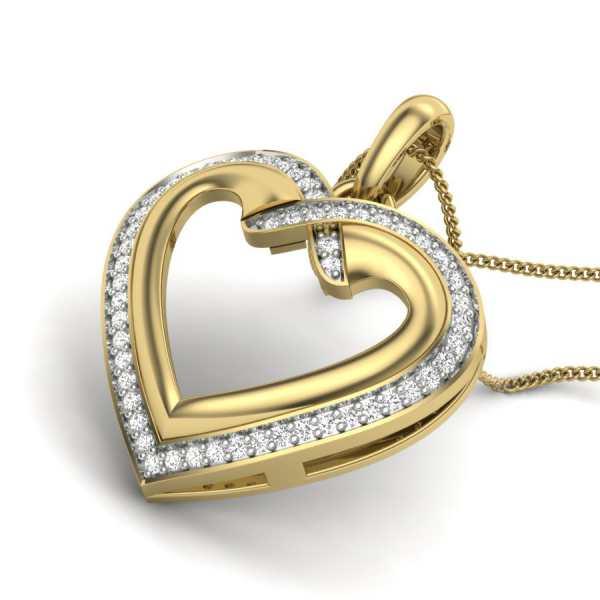 Hearts Desire Diamond Pendant