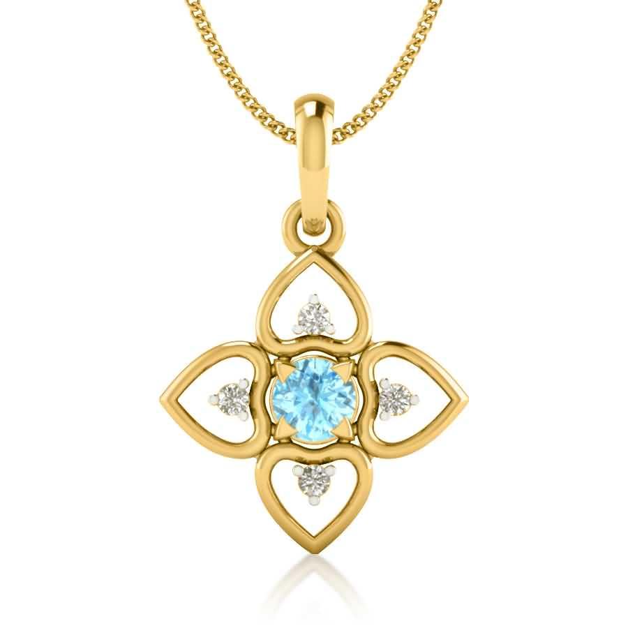 Sky Diamond Pendant
