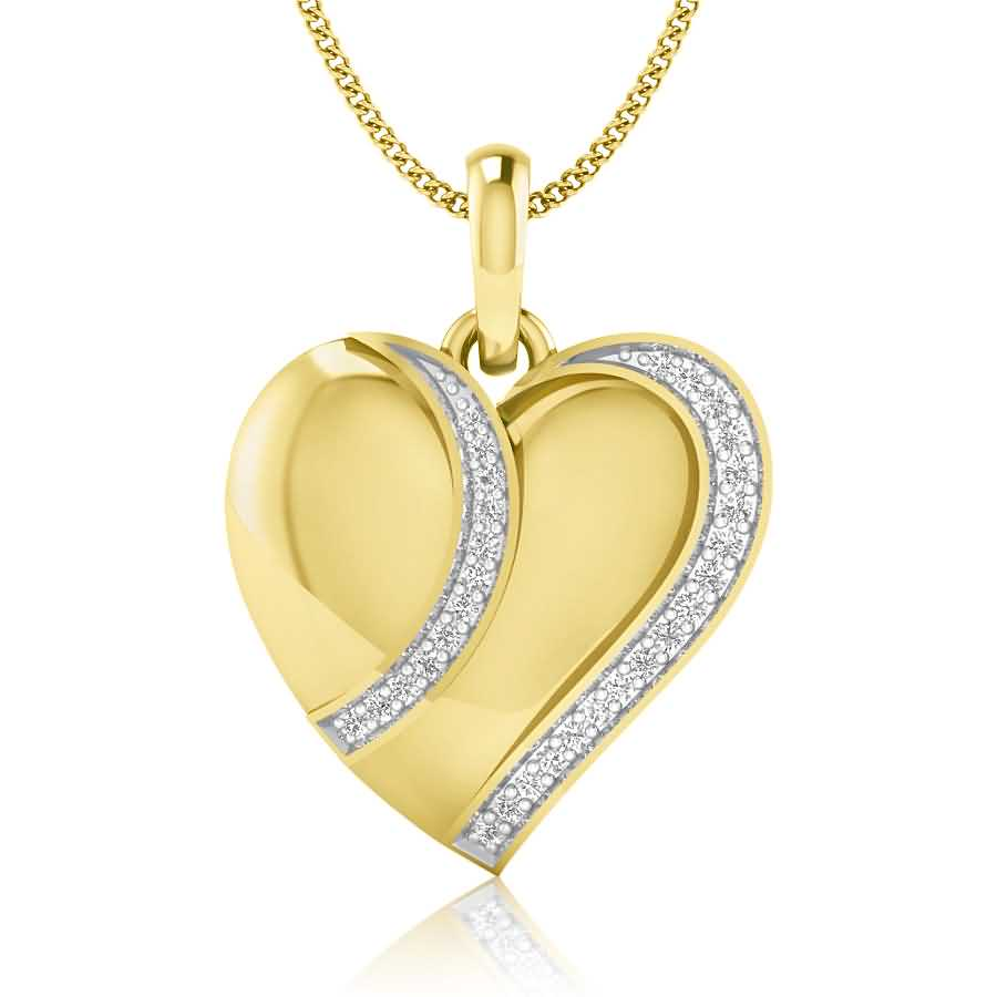 Heart Slayer Diamond Pendant