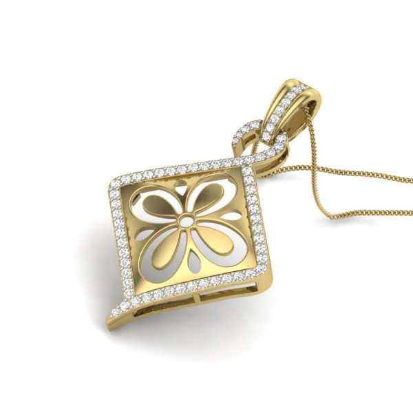 Lustur Kite Diamond Pendant