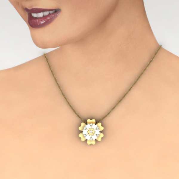Shimmering Star Pendant
