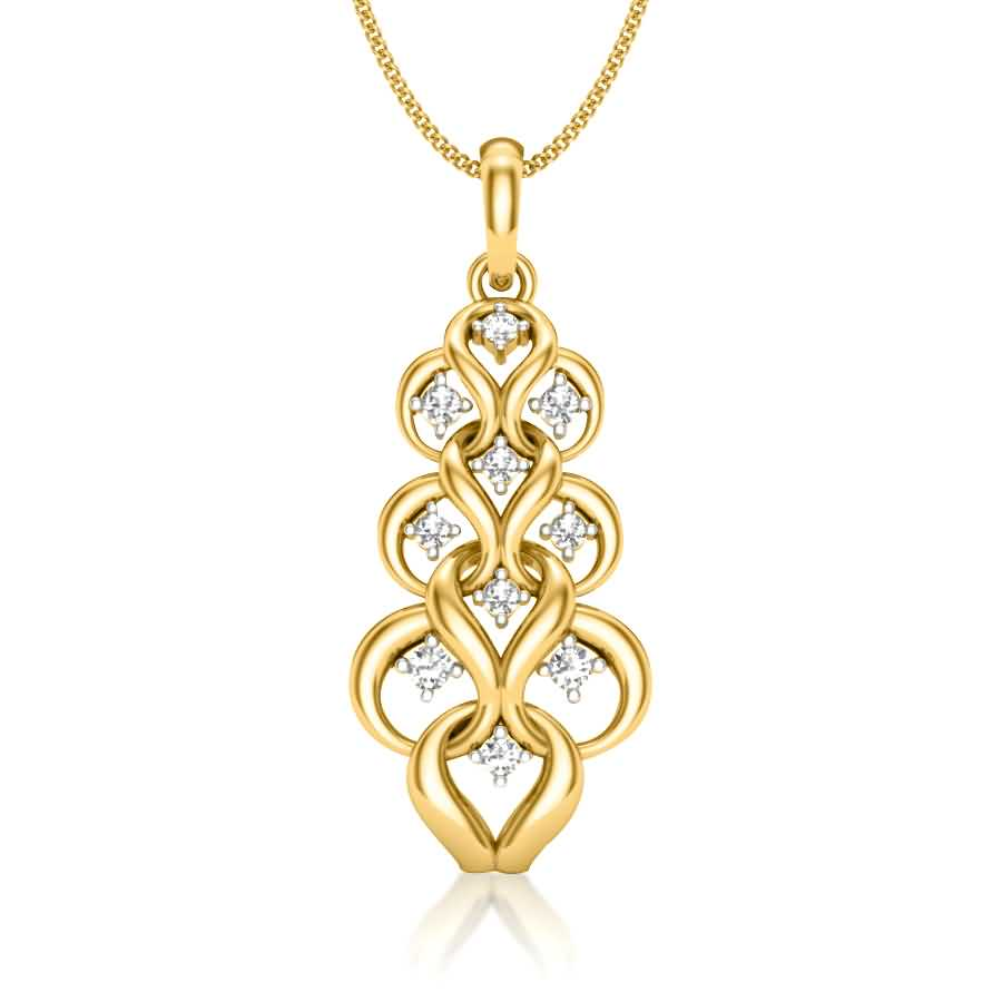 Dangling Chain Style Pendant