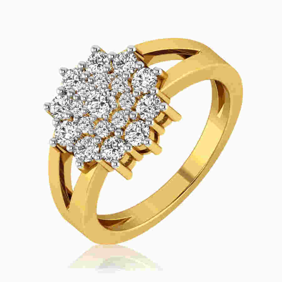 Evershine Floral Diamond Ring