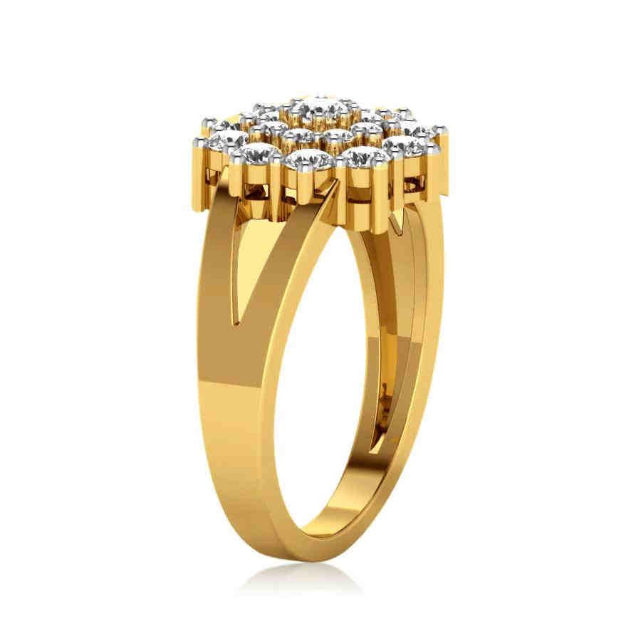 Evershine Floral Diamond Ring