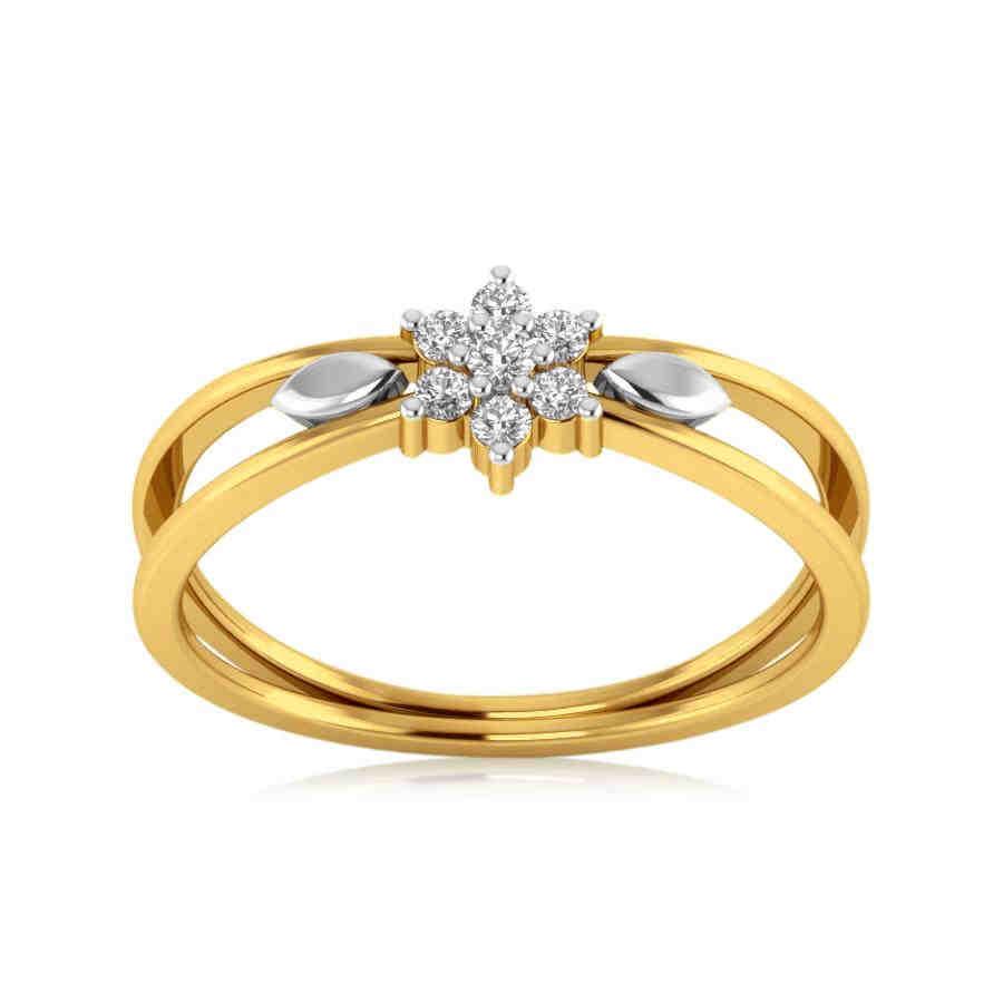 Infinity Rose Diamond Ring