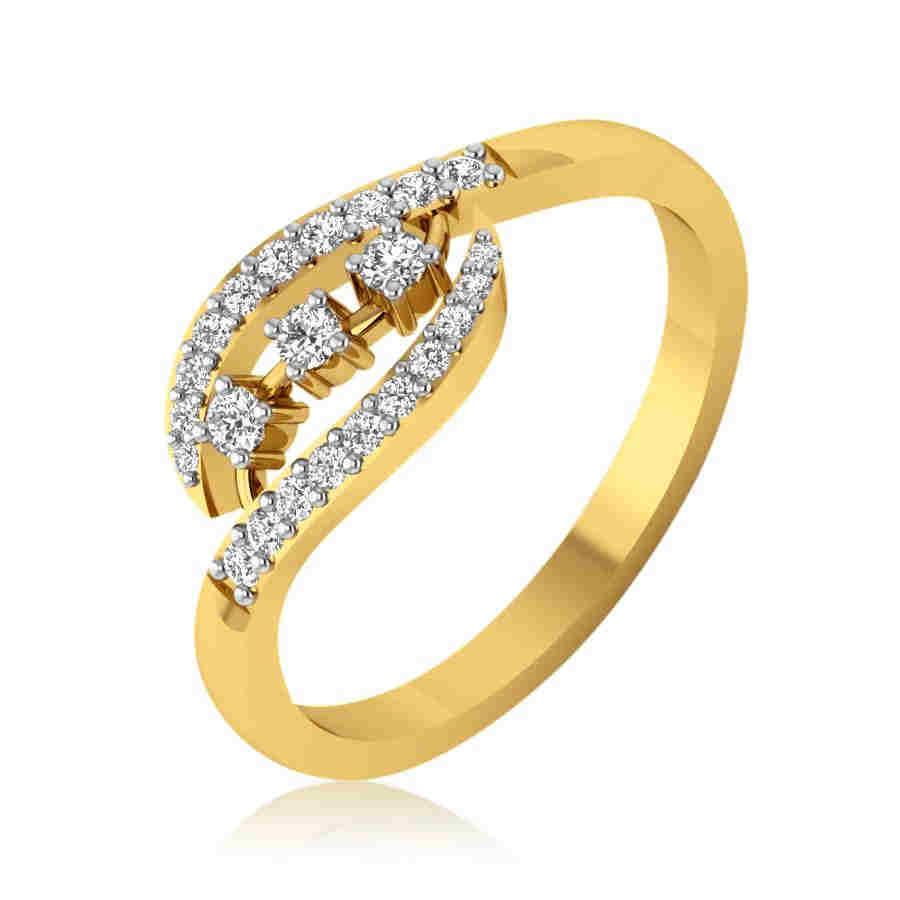 Twin Eternal Diamond Ring