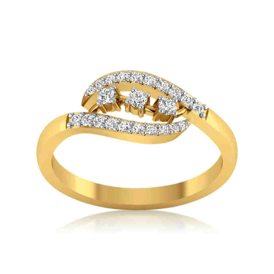 Twin Eternal Diamond Ring