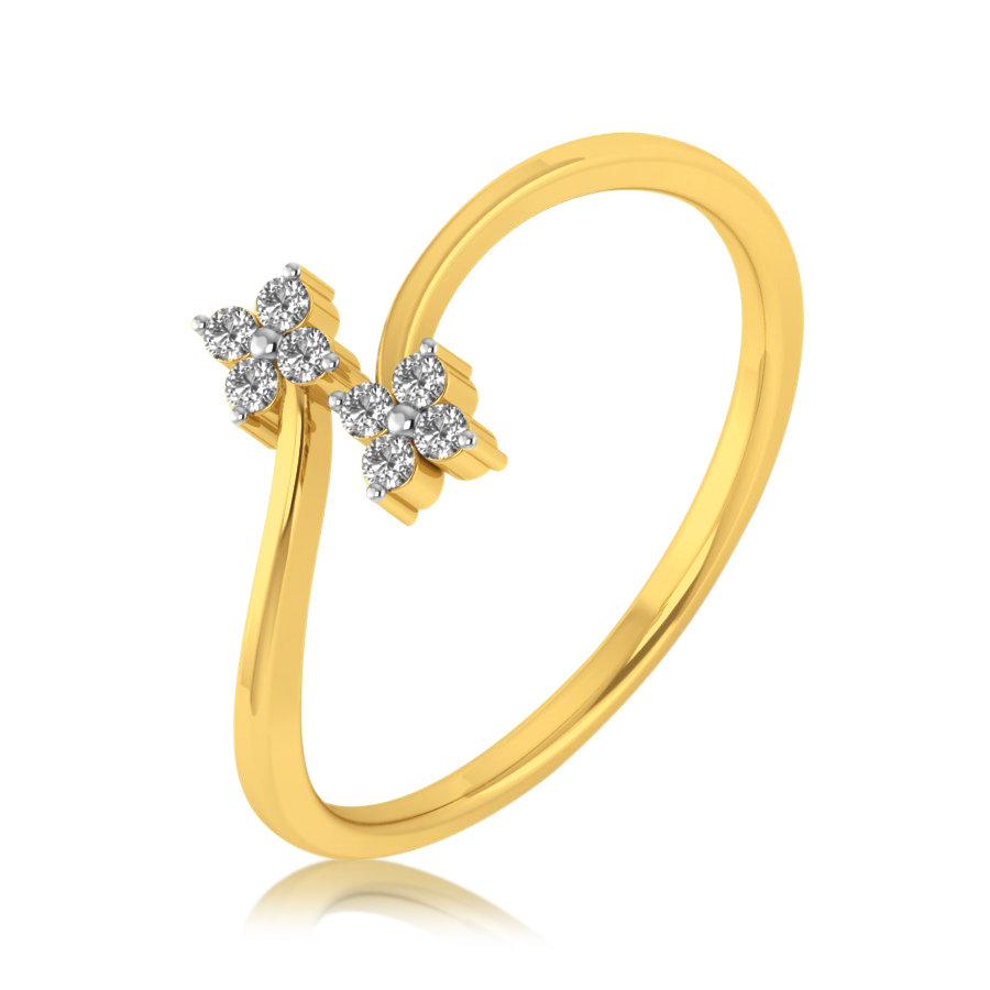 Eternal Lily Diamond Ring