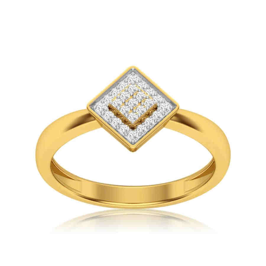 Beautiful Square Diamond Ring