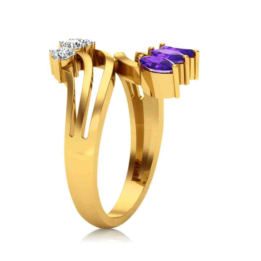 Crazy Trio Diamond Ring