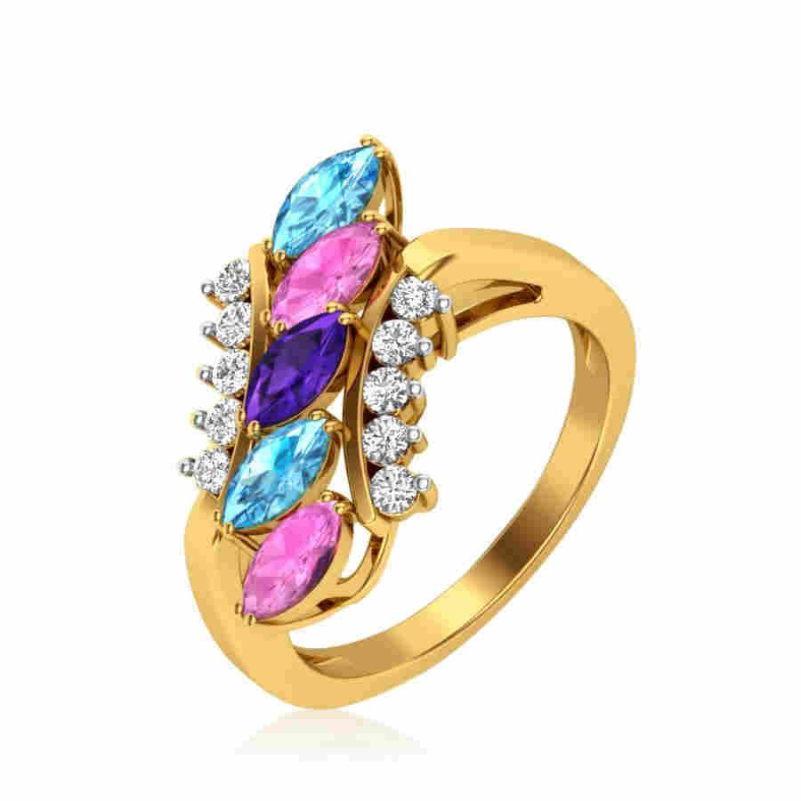 Joy of Colors Diamond Ring
