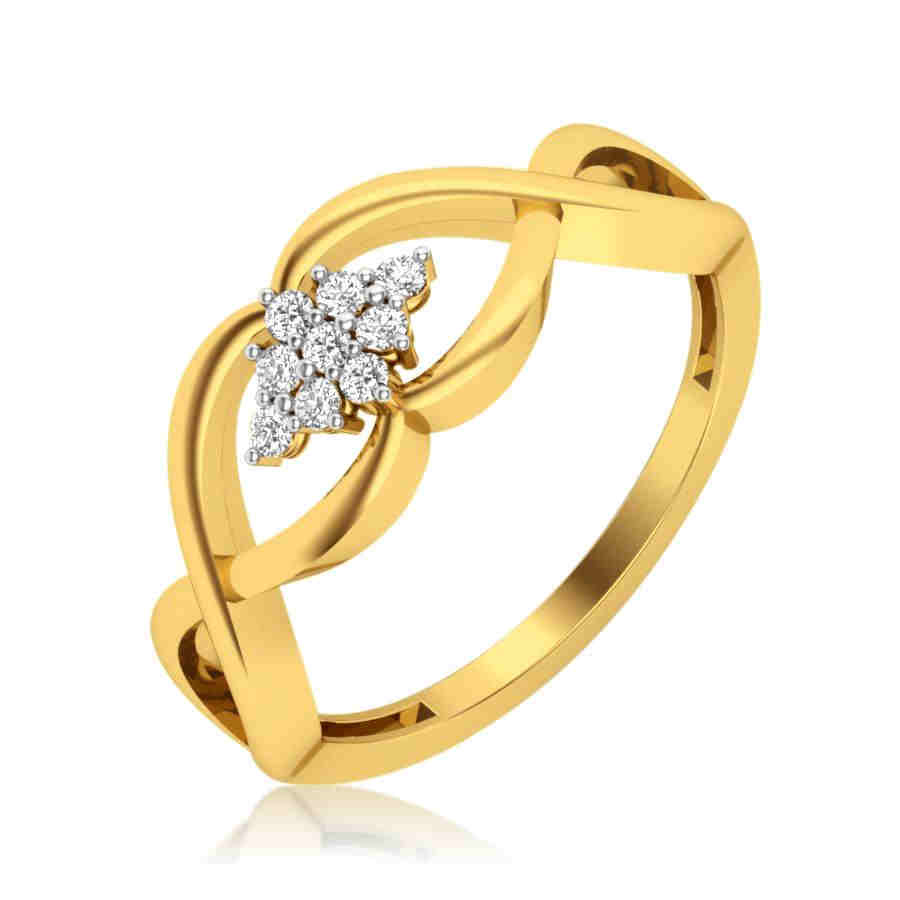Infinity Floral Diamond Ring