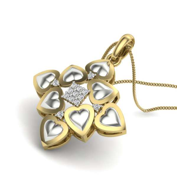 Square of Loves Pendant