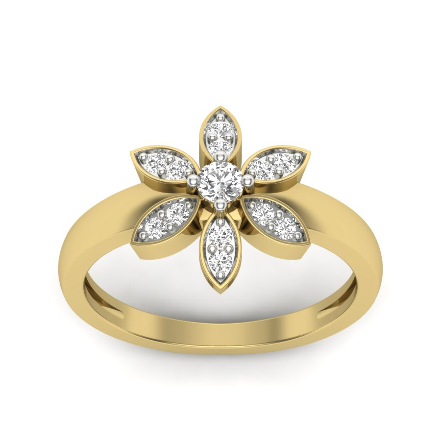 Rising Star Diamond Ring