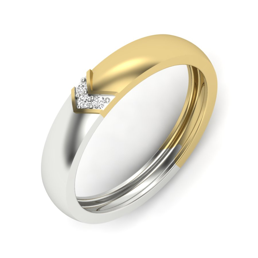 V Style Diamond Ring