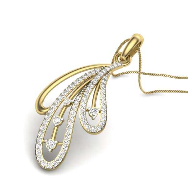 Touch Of Glow Diamond Pendant