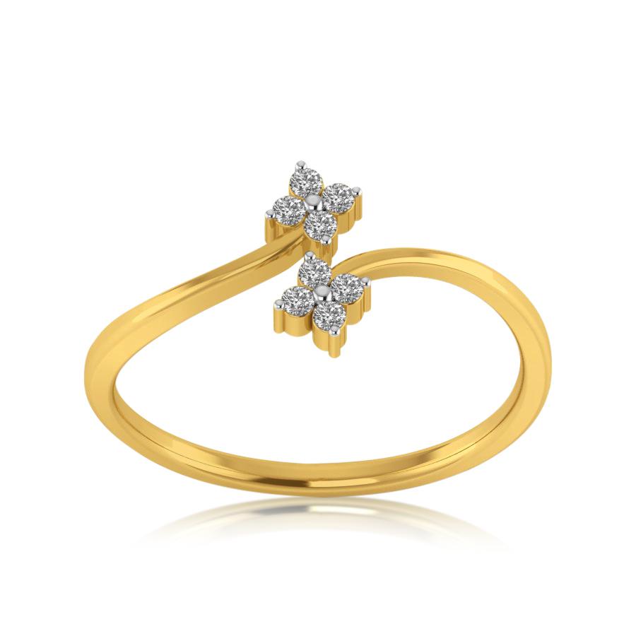 Eternal Lily Diamond Ring