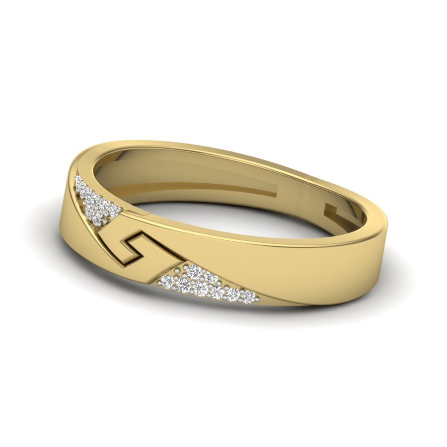 Classic Band Diamond Ring