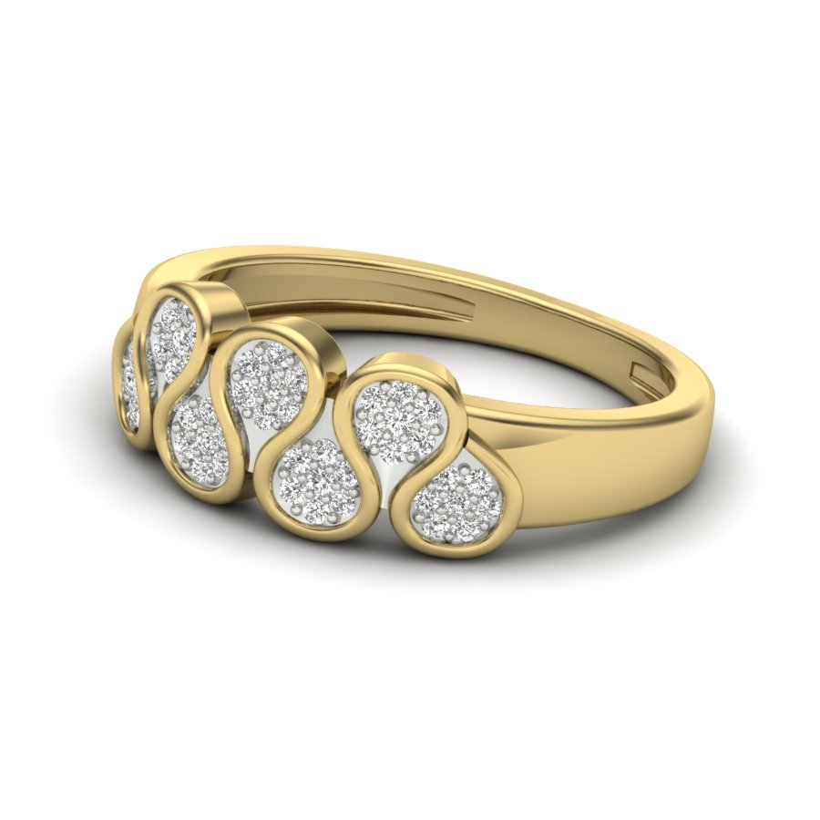 Curvy Joy Diamond Ring