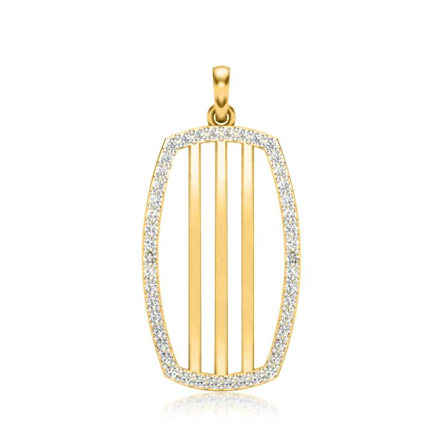 Shining Stripes Pendant