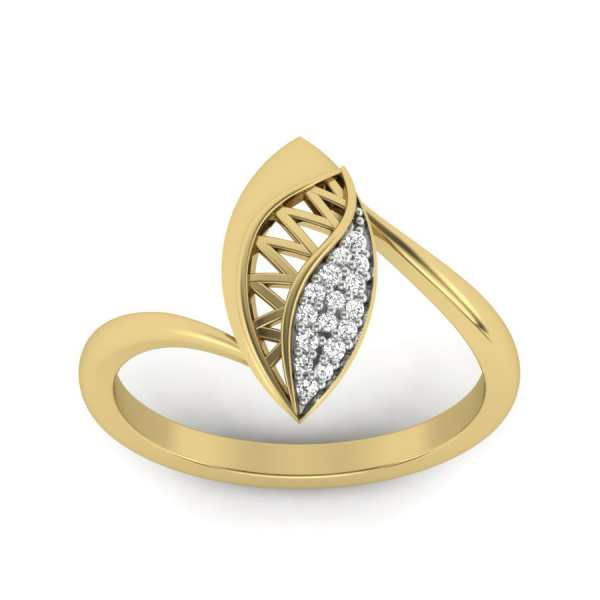 Divine Dew Drop Diamond Ring