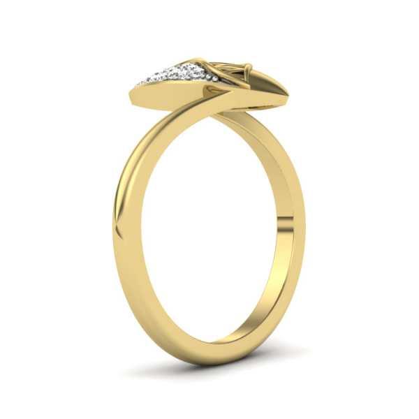 Divine Dew Drop Diamond Ring