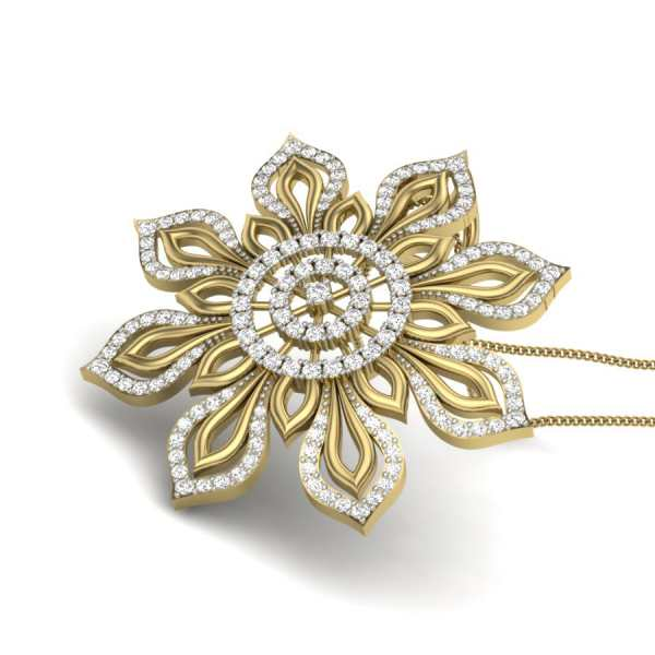 Simply Elegant Diamond Pendant