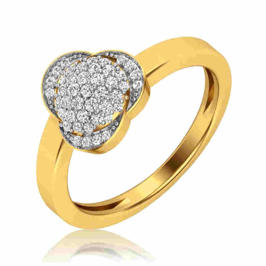 Fustian Diamond Ring