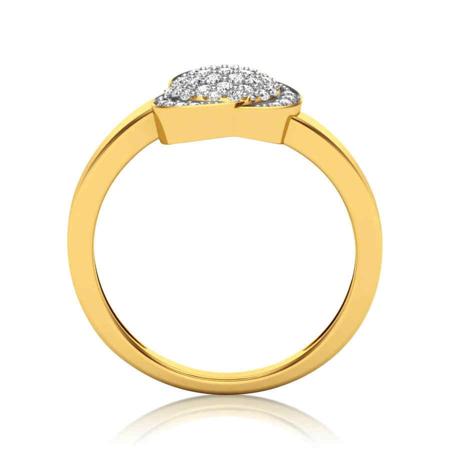 Fustian Diamond Ring