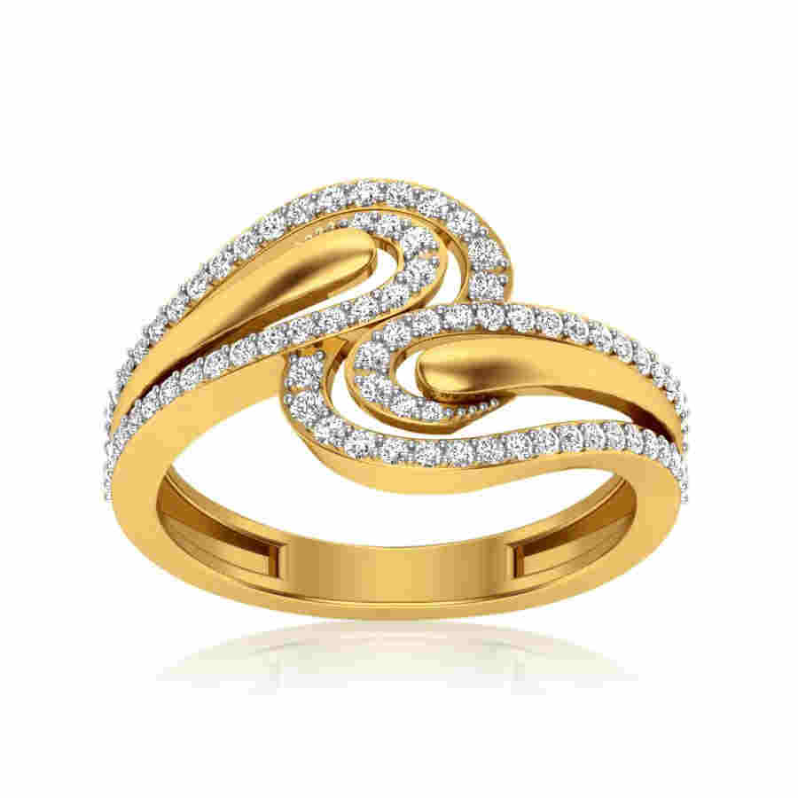 Kasturi Solitaire Ring