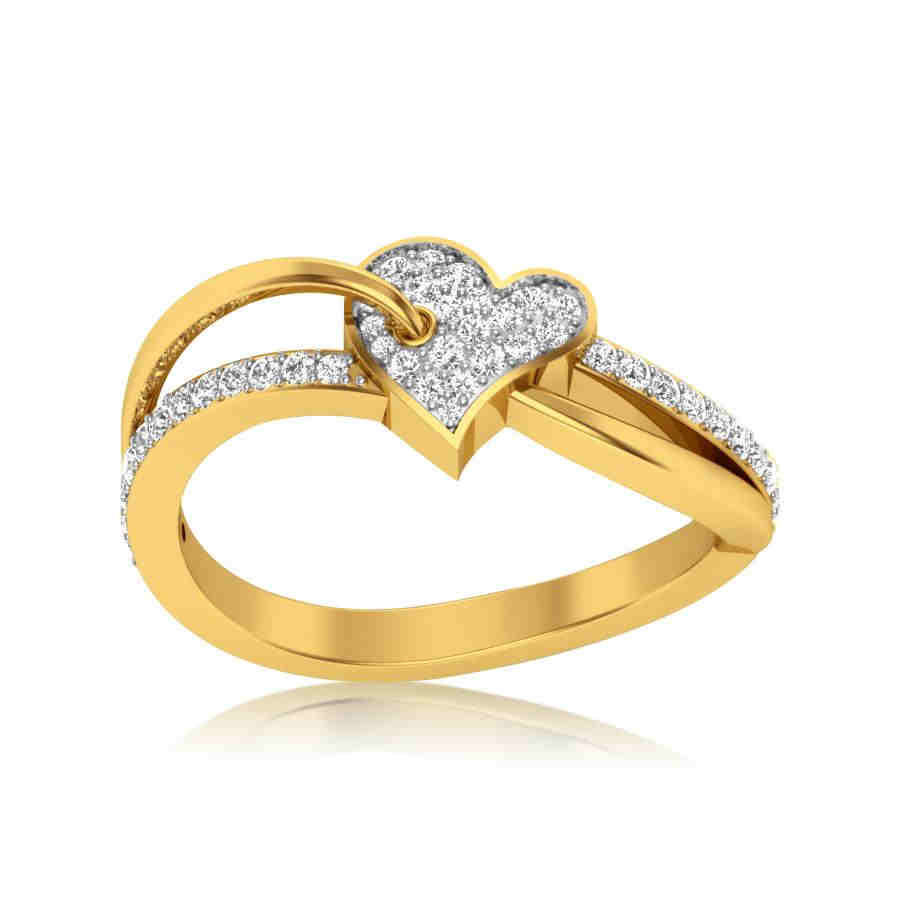 Cherubic Heart Ring