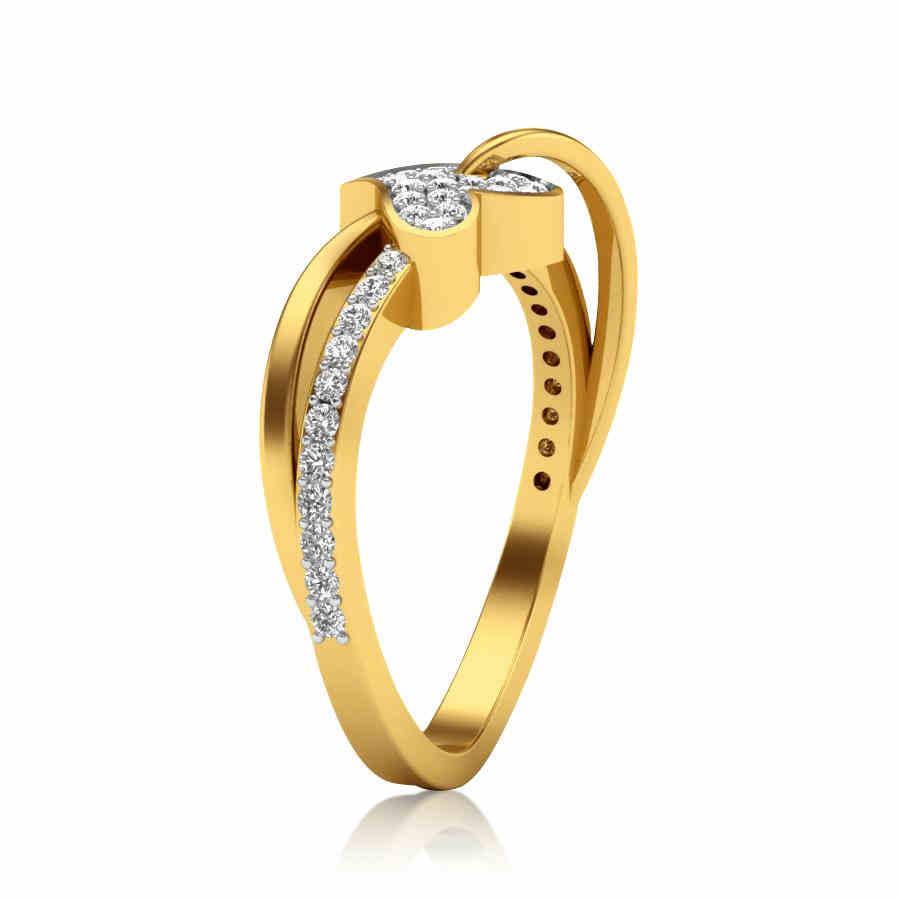 Cherubic Heart Ring