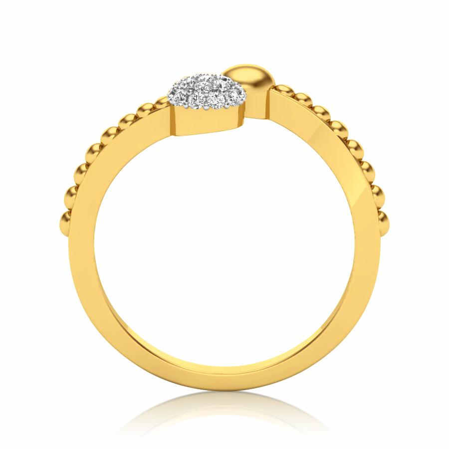Elegance Solitaire Ring