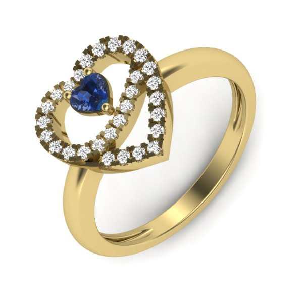 Ethereal Kasturi Ring